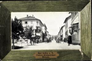 Passepartout Ak Bad Soden am Taunus Hessen, Untere Königsteiner Straße