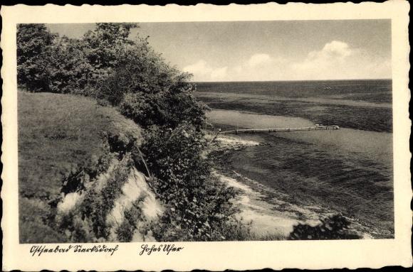 Ak Sierksdorf in Holstein, Hohes Ufer 0