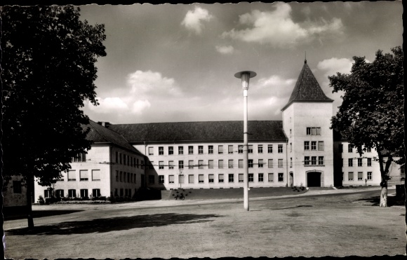 Ak Moers am Niederrhein, Rathaus 0