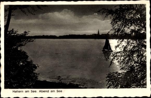 Ak Haltern am See, Abendstimmung 0