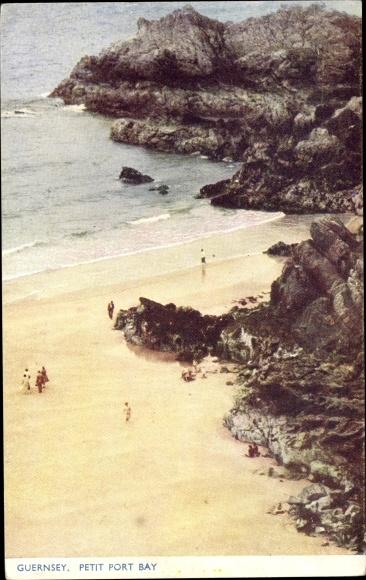 Ak Kanalinsel Guernsey, Petit Port Bay 0
