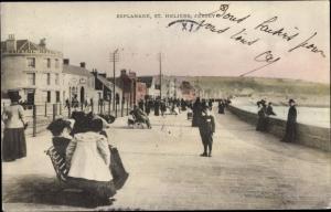 Ak Saint Heliers Jersey Kanalinseln, Esplanade