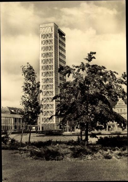 Ak Neubrandenburg in Mecklenburg, Haus der Kultur und Bildung 0