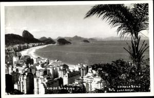 Ak Rio de Janeiro Brasilien, Copacabana, Foto Lucarelli