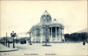 Ak Rio de Janeiro Brasilien, Palacio Monroe