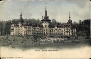 Ak Zürich Stadt Schweiz, Grand Hotel Dolder
