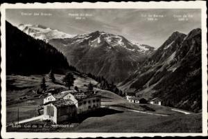 Ak Forclaz Wallis Schweiz, Col de la Forclaz, Points du Midi, Col de Balme, Croix de Fer