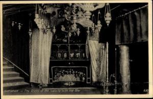 Ak Bethelem Palästina, The Grotto of the Nativity with the Star