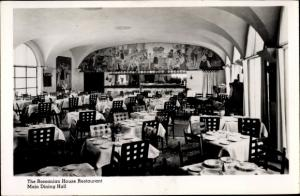 Ak New York City USA, The Romanian House Restaurant, Main Dining Hall
