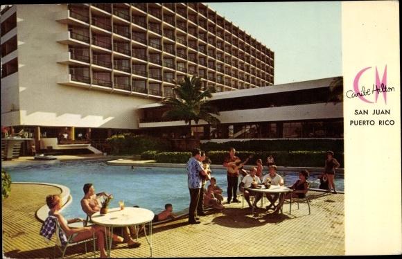 Ak San Juan Puerto Rico, Caribe Hilton, Schwimmbad 0