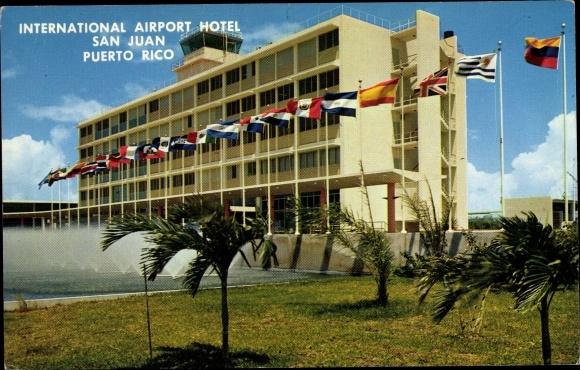 Ak San Juan Puerto Rico, International Airport Hotel, Außeansicht 0
