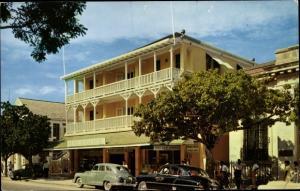 Ak Nassau Bahamas, Prince George Hotel, Außenansicht