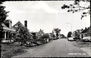 Ak Kornhorn Groningen Niederlande, Prov weg