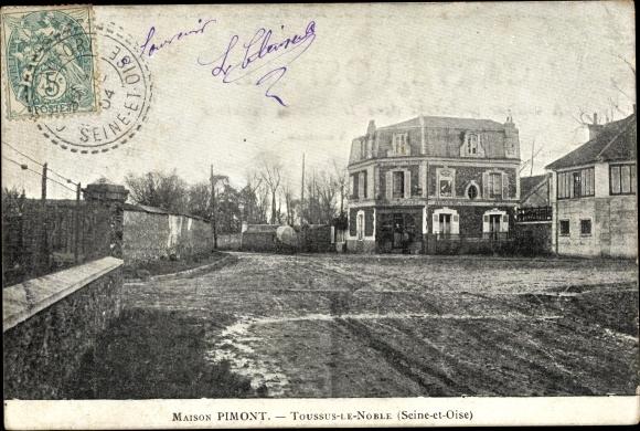 Ak Toussus le Noble Yvelines, Maison Pimont 0