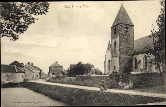 Ak Tilly Yvelines, L'Eglise 0