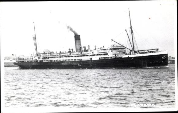 Foto Ak Steamer, Dampfschiff, Union Steamship Co. New Zealand 0