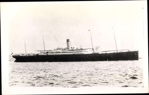 Ak Steamer Arabic, Dampfschiff, White Star Line 0