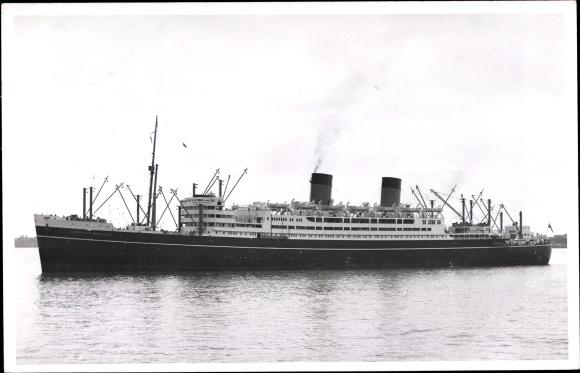 Ak Dampfer Dominion Monarch, Shaw Savill Line 0