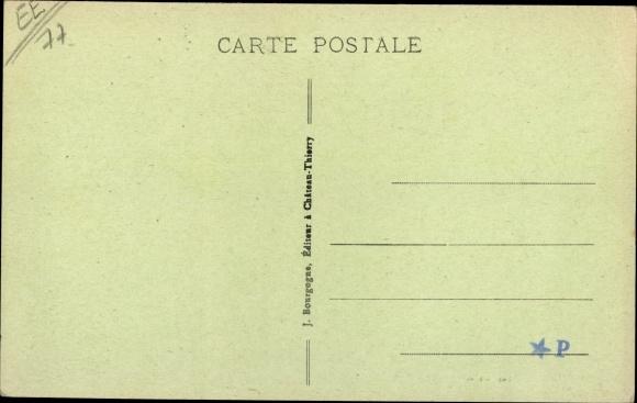 Ak La Ferté-sous-Jouarre Seine-et-Marne, Rue du Faubourg 1