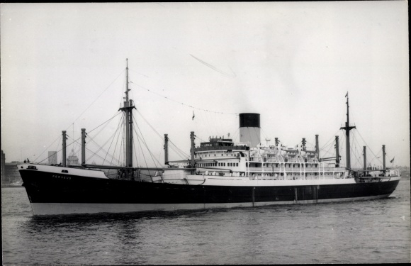 Ak Dampfer Perseus, Blue Funnel Line 0