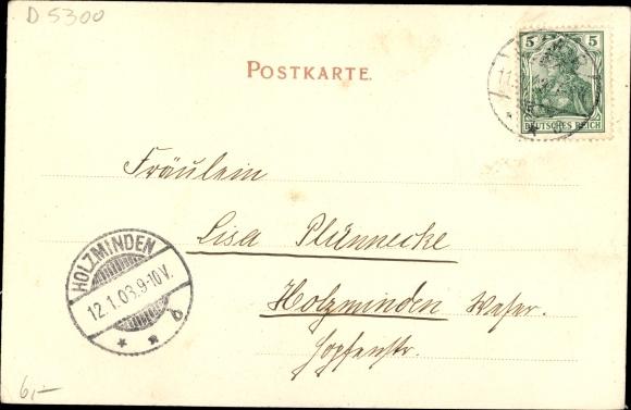 Ak Weimar in Thüringen, Rathaus 1