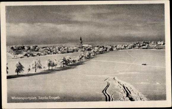 Ak Sayda im Erzgebirge,Wintersportplatz 0