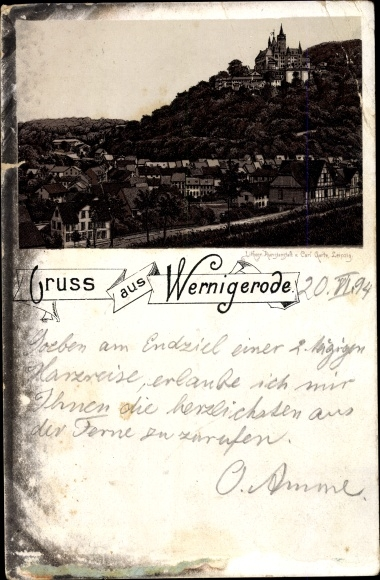 Litho Wernigerode am Harz, Panorama 0
