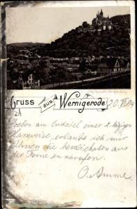 Litho Wernigerode am Harz, Panorama