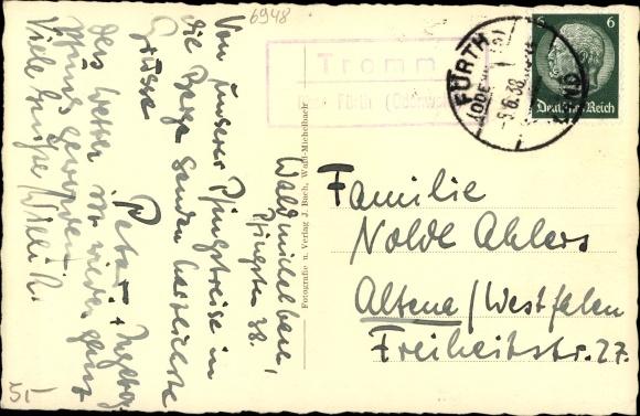 Ak Waldmichelbach Wald Michelbach im Odenwald Hessen, Gesamtansicht 1
