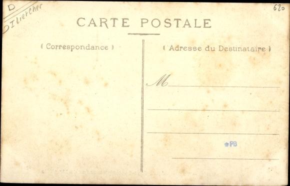 Ak Selles Saint Denis Loir et Cher, La Chapelle de Siant Genouif 1