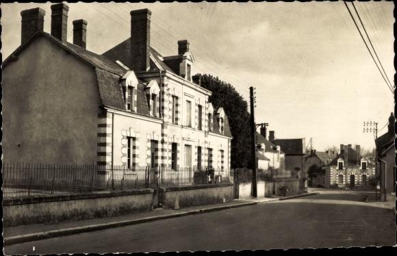 Ak Soings en Sologne Loir et Cher, La Mairie 0