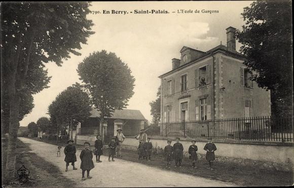 Ak Saint Palais Cher, L'Ecole de Garcons 0
