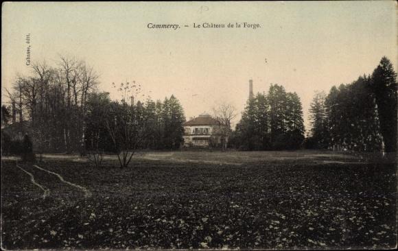 Ak Commercy Lothringen Meuse, Le Chateau de la Forge 0