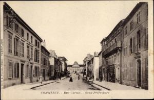 Ak Commercy Lothringen Meuse, Rue Carnot, Sous Prefecture
