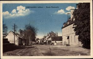 Ak Chevagnes Allier, Route Nationale