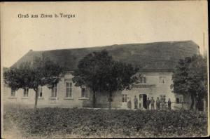 Ak Zinna Torgau in Nordsachsen, Gasthaus