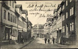 Ak Rotenburg an der Fulda, Steinweg