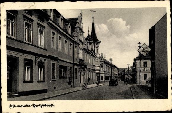 Ak Elsterwerda im Kreis Elbe Elster, Hauptstraße 0