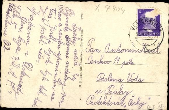 Ak Elsterwerda im Kreis Elbe Elster, Hauptstraße 1