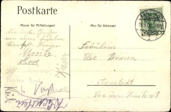 Studentika Ak Arnstadt in Thüringen, Gymnasiasten Turnverein 1