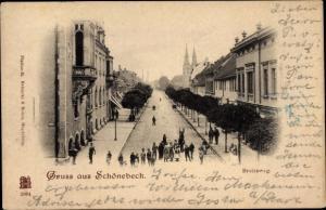 Ak Schönebeck an der Elbe, Kolonialwarenhandlung im Breiteweg