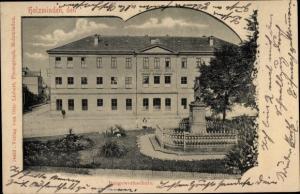 Ak Holzminden an der Weser, Baugewerkeschule