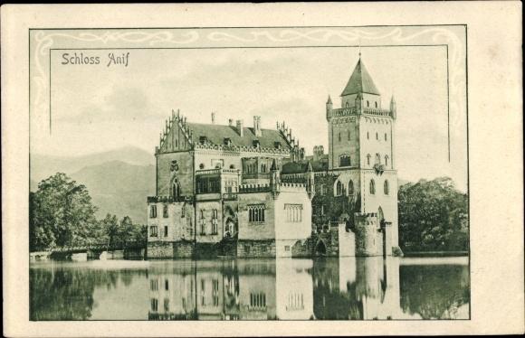 Ak Anif in Salzburg, Schloss 0