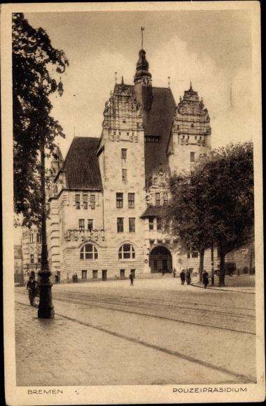 Ak Hansestadt Bremen, Polizeipräsidium 0