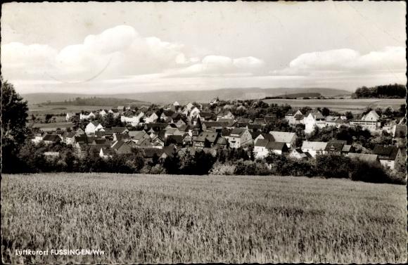 Ak Fussingen Waldbrunn im Westerwald, Panorama 0