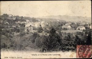 Ak Lausanne Kanton Waadt, Chailly, La Rosiaz