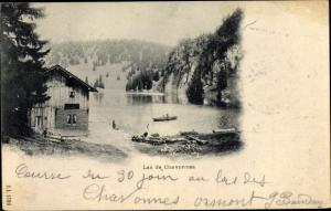 Ak Villars-sur-Ollon Waadt Schweiz, Lac de Chavonnes