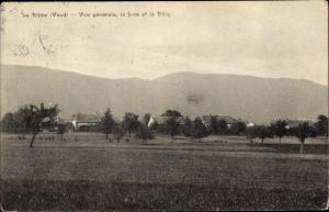 Ak La Rippe Kt Waadt, Vue generale, Le Jura, La Dole