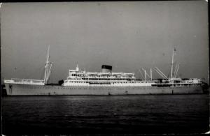 Foto Ak Steamer Dunnottar Castle, Dampfschiff, Union Castle Line