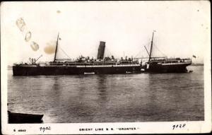 Ak Steamer Orontes, Dampfschiff, Orient Line, 1902